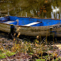 Buy canvas prints of The old Boat by Mal Taylor Photography