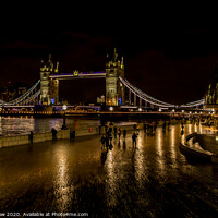 Buy canvas prints of Tower Bridge, London by Andy Dow