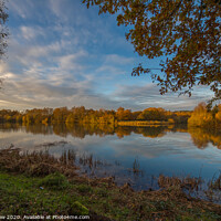 Buy canvas prints of Tranquil afternoon, Finchampstead, Hampshire by Andy Dow