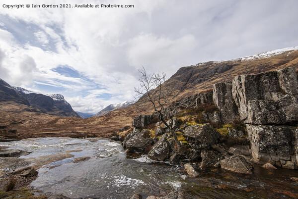 Glencoe - Scottish Highlands  Framed Mounted Print by Iain Gordon