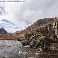 Buy canvas prints of Glencoe - Scottish Highlands  by Iain Gordon