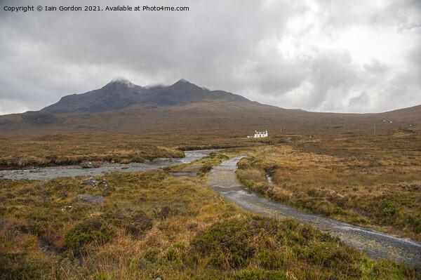 Cuillins Isle of Skye Scotland Framed Mounted Print by Iain Gordon
