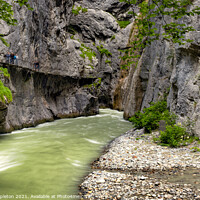 Buy canvas prints of Aare Gorge Canyon Entrance by Paul Stapleton