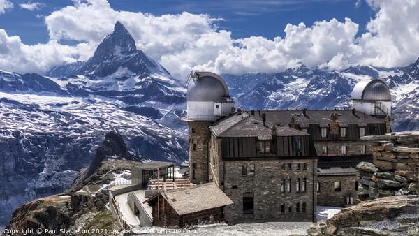 Matterhorn from Gornergrat Acrylic by Paul Stapleton