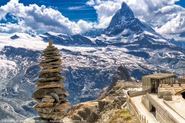 Little & Large Matterhorn Acrylic by Paul Stapleton