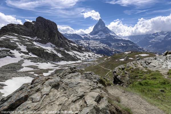 Matterhorn Region Acrylic by Paul Stapleton