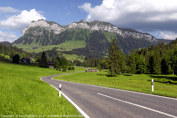 The road to Eriz Acrylic by Paul Stapleton