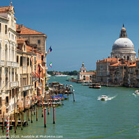 Buy canvas prints of Grand Canal in Venice by Paul Stapleton