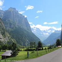 Buy canvas prints of Beautiful Lauterbrunnen Valley, Switzerland by Imladris