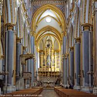 Buy canvas prints of Chiesa di San Domenico Maggiore - Napoli by Laszlo Konya