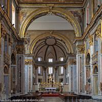 Buy canvas prints of Interior of the Basilica di San Paolo Maggiore - Napoli by Laszlo Konya