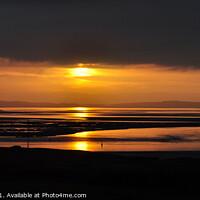 Buy canvas prints of Llandudno sunset north Wales 490  by PHILIP CHALK
