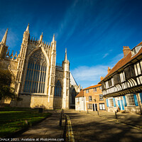 Buy canvas prints of York Minster  by PHILIP CHALK