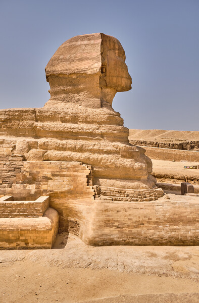 Great Sphinx of Giza on the Giza Plateau in Cairo, Egypt Print by Mirko Kuzmanovic