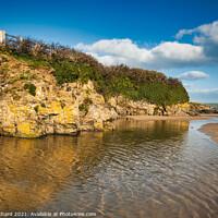 Buy canvas prints of North Cornwall estuary by Stuart Chard
