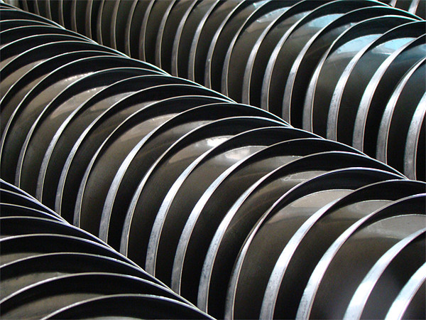A stack of Steel Plates Canvas Print by Susmita Mishra