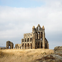 Buy canvas prints of Whitby Abbey by Neil Overy