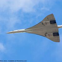 Buy canvas prints of Concorde Flypast by Nigel Wilkins