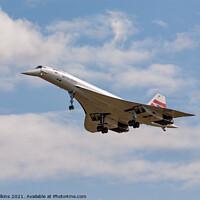 Buy canvas prints of Concorde by Nigel Wilkins