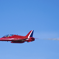 Buy canvas prints of Red Arrows up Close by Chris Walker