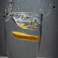 Buy canvas prints of Orange Splash by Chris Walker