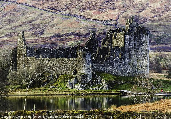Kilchurn Castle Framed Mounted Print by Gilbert Hurree