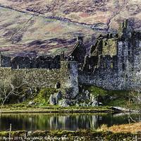 Buy canvas prints of Kilchurn Castle by Gilbert Hurree