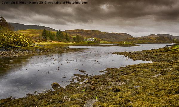 View From Clachan Bridge Scotland Canvas print by Gilbert Hurree