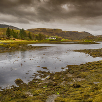 Buy canvas prints of  View From Clachan Bridge Scotland by Gilbert Hurree