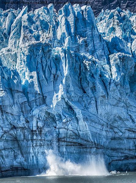 Glacier Bay Canvas print by Gilbert Hurree