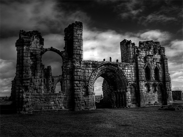 Tynemouth Priory Canvas print by George Young