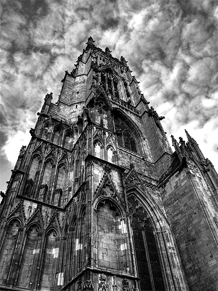 York minster Canvas Print by CHRIS ANDERSON