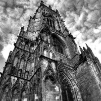 Buy canvas prints of York minster by CHRIS ANDERSON