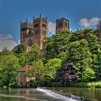Buy canvas prints of Durham Cathedral by CHRIS ANDERSON