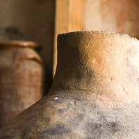 Buy canvas prints of Israel, Achziv, Ancient clay pots on display by PhotoStock Israel
