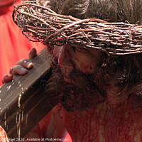 Buy canvas prints of Via Dolorosa Easter Procession, Good Friday, 2007 by PhotoStock Israel