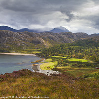 Buy canvas prints of View of the Gruinard bay by Gabor Pozsgai