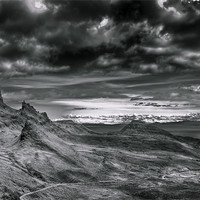 Buy canvas prints of Quiraing on Isle of Skye, Scotland by Gabor Pozsgai