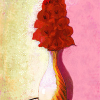Buy canvas prints of floral expressionism by joseph finlow canvas and prints