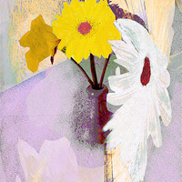 Buy canvas prints of floral abstract by joseph finlow canvas and prints