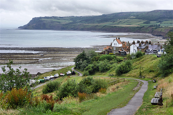 Robin Hood's Bay Canvas print by Sarah Couzens