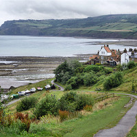 Buy canvas prints of Robin Hood's Bay by Sarah Couzens