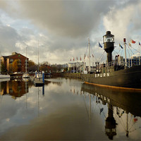 Buy canvas prints of Hull Marina by Sarah Couzens