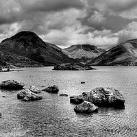 Buy canvas prints of Wastwater  by Sarah Couzens
