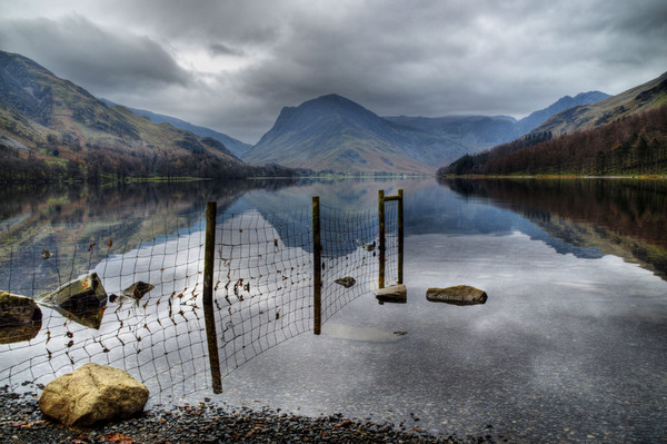 Buttermere Reflections Canvas print by Sarah Couzens