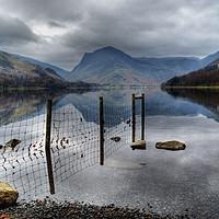 Buy canvas prints of Buttermere Reflections by Sarah Couzens