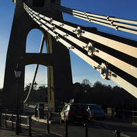 Buy canvas prints of Clifton Suspension Bridge by mark blower