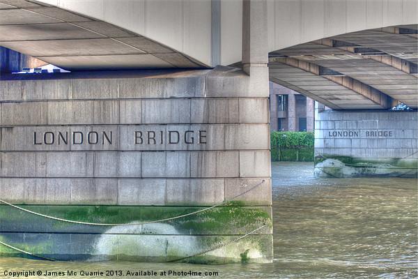 London Bridge Canvas print by James Mc Quarrie