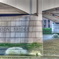 Buy canvas prints of London Bridge by James Mc Quarrie