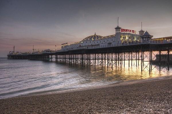 Brighton Pier Canvas print by James Mc Quarrie